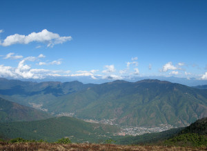 Beautiful Weather in Thimphu, Bhutan