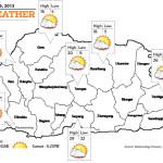 Bhutan Weather April 09 2013