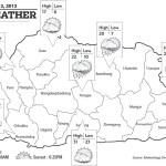 Bhutan Weather April 13 2013