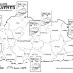 Bhutan Weather April 16 2013