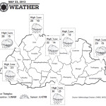 Bhutan Weather for May 23 2013