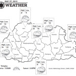 Bhutan Weather for May 27 2013
