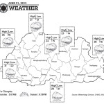 Weather for June 21 2013