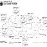 Weather for June 22 2013