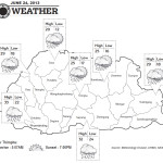 Weather for June 24 2013