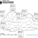 Weather for June 27 2013