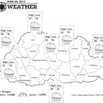 Weather for June 28 2013
