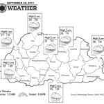 Bhutan Weather for September 28 2013