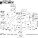 Bhutan Weather for October 04 2013