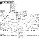 Bhutan Weather for October 28 2013