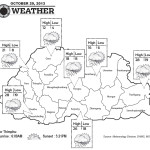 Weather for October 29 2013