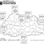 Weather for December 19 2013