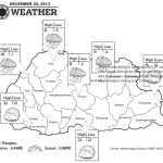 Weather for December 20 2013