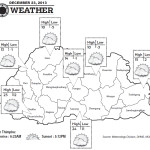 Weather for December 23 2013