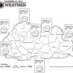 Weather for December 24 2013