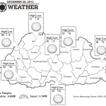 Weather for December 28 2013