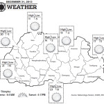 Weather for December 31 2013